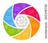 Round Spiral Infographic...