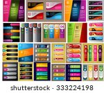 colorful modern text box... | Shutterstock .eps vector #333224198