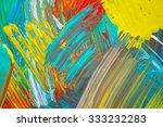 abstract art background. hand... | Shutterstock . vector #333232283