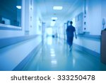 hospital corridor and doctor as ... | Shutterstock . vector #333250478