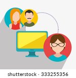 customer service and technical... | Shutterstock .eps vector #333255356