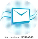 an e mail icon  envelope and... | Shutterstock .eps vector #33326140