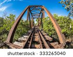 steel bridge on the railway ... | Shutterstock . vector #333265040