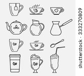 collection contour icons ... | Shutterstock . vector #333270809