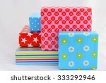 colorful stripes  dots  stars... | Shutterstock . vector #333292946