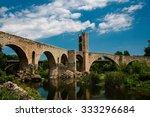 Ancient Gothic Bridge In Besal...