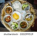 thai food set in ceremony | Shutterstock . vector #333299519