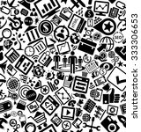 seo and marketing solid icons... | Shutterstock .eps vector #333306653