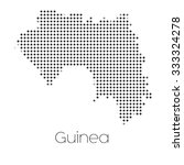 a map of the country of guinea | Shutterstock .eps vector #333324278