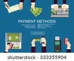 flat design illustration... | Shutterstock .eps vector #333355904