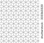 seamless geometric pattern.... | Shutterstock .eps vector #333363320