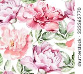 seamless pattern with... | Shutterstock . vector #333363770