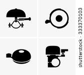 bicycle bells | Shutterstock .eps vector #333370103