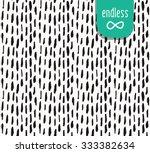 handmade seamless texture  ... | Shutterstock .eps vector #333382634