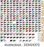 world flags gallery update july ... | Shutterstock . vector #333424373