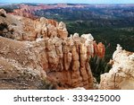 bryce canyon  ut  24 aug 2013 ... | Shutterstock . vector #333425000