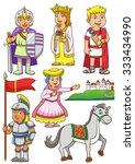 illustration of greek roman... | Shutterstock .eps vector #333434990