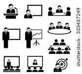 business presentation and... | Shutterstock .eps vector #333437249