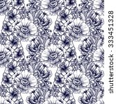 abstract elegance seamless... | Shutterstock .eps vector #333451328