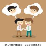 business etiquette forbids show ... | Shutterstock .eps vector #333455669
