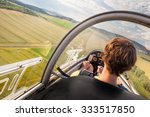 Landing Of Plane With Pilot On...