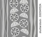 seamless    pattern  of citrus  ... | Shutterstock .eps vector #333549524