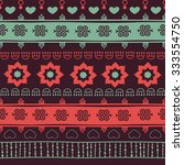 tribal seamless pattern. it can ... | Shutterstock .eps vector #333554750
