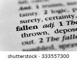 Small photo of Fallen