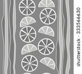 seamless    pattern  of citrus  ... | Shutterstock . vector #333566630
