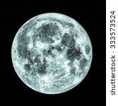 Full Moon Seen From A Telescop...