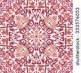 oriental pattern. | Shutterstock .eps vector #333576053