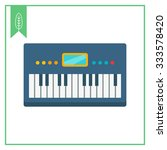 synthesizer icon | Shutterstock .eps vector #333578420