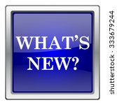 whats new icon. internet button ... | Shutterstock .eps vector #333679244