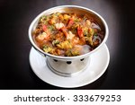 Spicy And Sour Soup With Shrim...