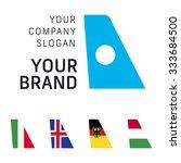 Logotype Air Wing Tail Plane...