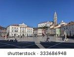 piran  slovenia   october 30 ... | Shutterstock . vector #333686948