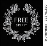 butterfly graphic for t shirt