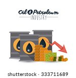 oil and petroleum concept with... | Shutterstock .eps vector #333711689