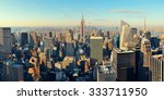 new york city skyscrapers... | Shutterstock . vector #333711950