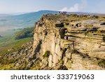 Stanage Edge In Peak District...