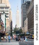 new york usa   august 17 2015   ...   Shutterstock . vector #333720884