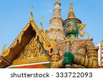 giant statue at temple of the...   Shutterstock . vector #333722093