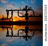 oil pipeline  | Shutterstock . vector #333727019