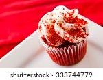 Miniature Red Velvet Cupcakes