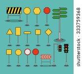 road sign design  vector... | Shutterstock .eps vector #333759368