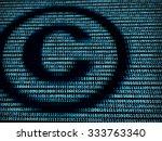 Copyright Symbol In Digital...