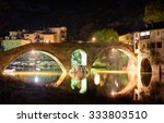 old bridge over crnojevica...   Shutterstock . vector #333803510