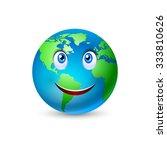 illustration of the smiling... | Shutterstock .eps vector #333810626