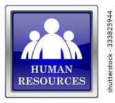 human resources icon. internet... | Shutterstock .eps vector #333825944