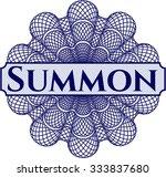 summon money style rosette | Shutterstock .eps vector #333837680